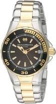 Technomarine Women's 'Sea Manta' Swiss Quartz Stainless Steel Automatic Watch, Two Tone (Model: TM-215061)