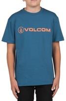 Volcom Boy's Lino Euro Graphic T-Shirt