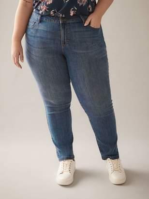 Petite, Straight Leg Blue Jean - d/C JEANS