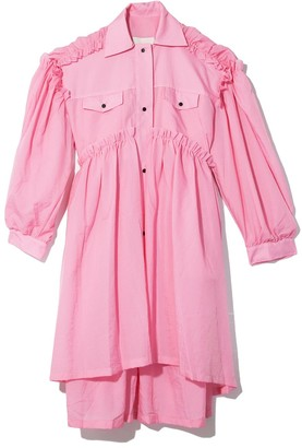 Brogger Mable Coat Dress in Pink