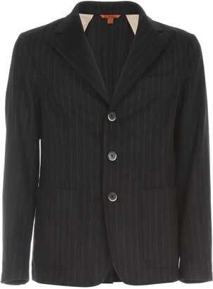 Barena Toppa Filotto Destructed Pinstriped Jacket