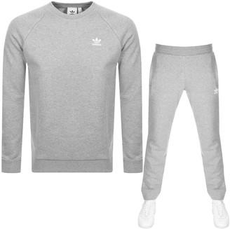 adidas Essential Tracksuit Grey