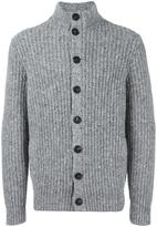 Brunello Cucinelli flocked ribbed cardigan