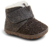 Toms Unisex Felt Tweed Cuna Booties - Baby