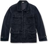 Massimo Alba - Oversized Velvet Field Jacket