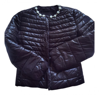 MonnaLisa Black Synthetic Jackets & Coats