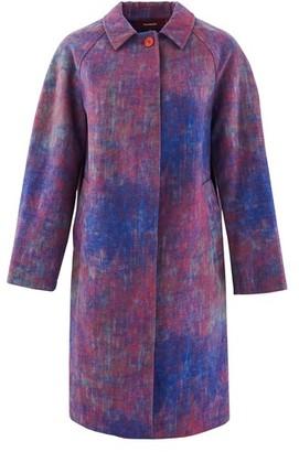 Sies Marjan Ripley wool blend coat