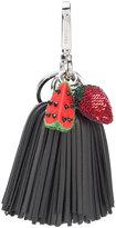 Altuzarra watermelon strawberry tassel keyring