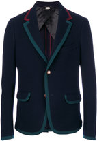 Gucci Cambridge jacket - men - Cotton/Polyamide/Spandex/Elastane/Wool - 48