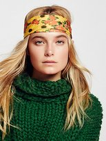 Look From London Clarissa Printed Headband by at Free People