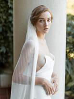 Etsy Ivory Wedding Veil | Accordion Veil | Pleated Wedding Veil | Bridal Veil | Unique Bridal Veil | Mode
