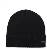 Boss Orange Fomero Black Knitted Beanie