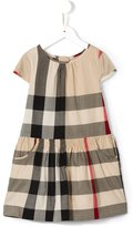 Burberry New Classic check dress - kids - Cotton - 8 yrs