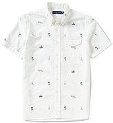 Polo Ralph Lauren Tropical Print Short-Sleeve Woven Shirt