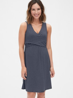 Gap Maternity Sleeveless Crossover Dress