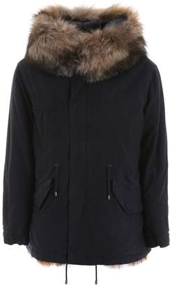Mr & Mrs Italy Jazzy Parka With Fur