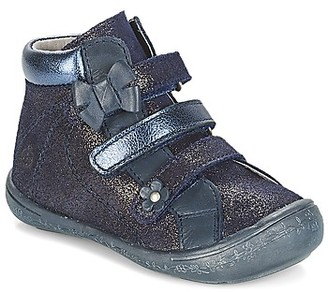 Citrouille et Compagnie JODIL girls's Mid Boots in Blue
