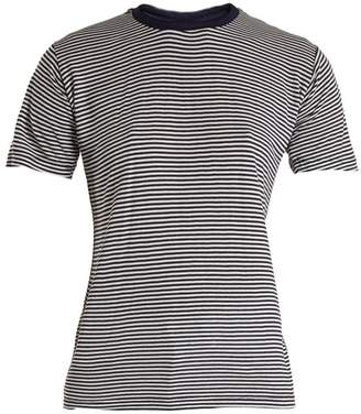 Eve Denim Alexa Striped Jersey T Shirt - Womens - Blue Multi