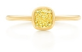 Tiffany & Co. Bezet yellow diamond ring