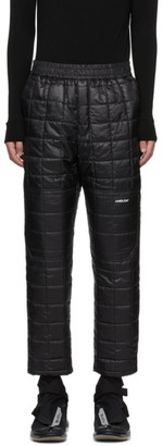 Ambush Black Quilted Lounge Pants