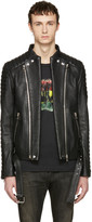 Balmain Black Biker Jacket