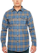 Walls YL861 Men's Long Sleeve Heavy Weight Brushed Flannel Plaid Button-Front Shirt