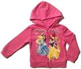 Disney Princess Little Girls Toddler Zip Hoodie