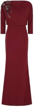 Badgley Mischka Embellished Gown