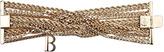 Balmain Gold Twisted Curb Chain Bracelet
