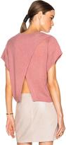 Michelle Mason Cropped Oversized Sweater