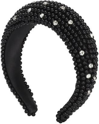 Shourouk Clotilde Embellished Headband