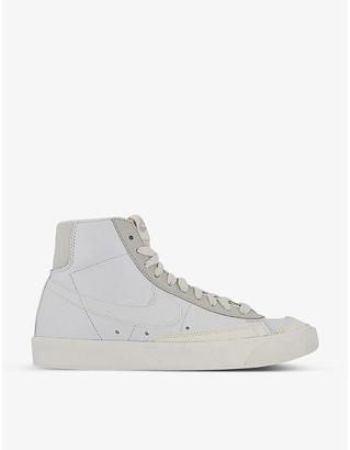 Nike Blazer mid 77 leather trainers