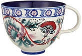 Anthropologie Salma Mug, Blue/White, 473ml
