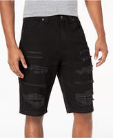 Lrg Men's Creative Uniform Distressed Shorts