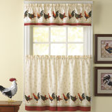 CHF Morning Rooster 3-pc. Rod-Pocket Kitchen Curtain Set