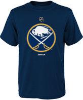 Reebok Boys' Buffalo Sabres Primary Logo T-Shirt