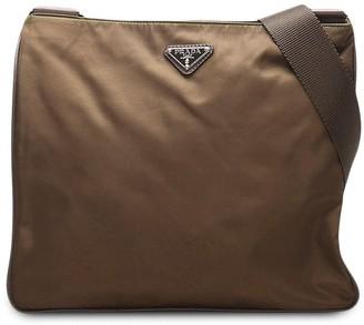 Prada Pre-Owned pre-owned Tessuto crossbody bag