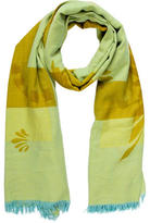 Hermes Grand H Cashmere Wool Shawl