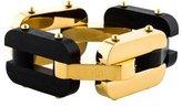 Fendi Alternating Ebony Link Bracelet