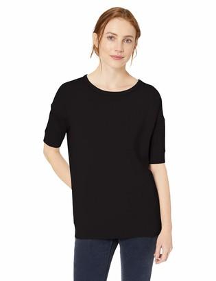 Daily Ritual Amazon Brand Women's Supersoft Terry Slouchy Short-Sleeve Sweatshirt
