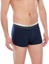 Versace Navy Logo Trunks