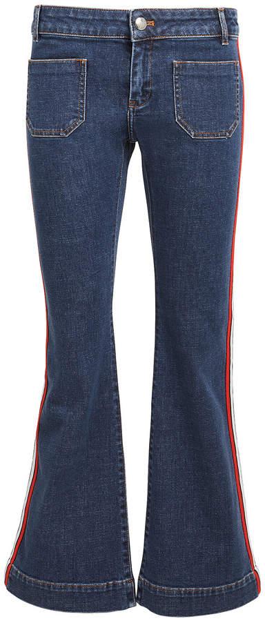2ab7ec8484 Sonia Rykiel Blue Women's Cropped Jeans - ShopStyle