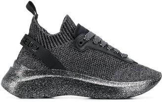 DSQUARED2 Speedster metallic sneakers