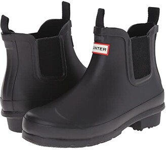 Hunter Original Chelsea (Little Kid/Big Kid) (Black) Kids Shoes