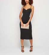 New Look Bustier Strappy Midi Bodycon Dress
