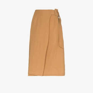 ST. AGNI Cella wrap skirt