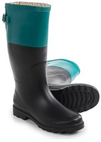 Chooka Color-Block Back Gusset Rain Boots - Waterproof (For Women)