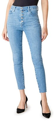 J Brand Lillie High-Rise Crop Skinny in Cloudy (Cloudy) Women's Jeans