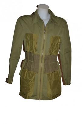 JC de CASTELBAJAC Green Cotton Coats