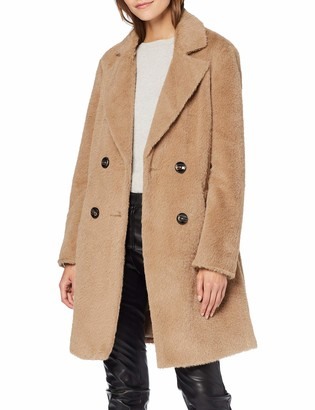 New Look Women's Adele Eyelash Coat